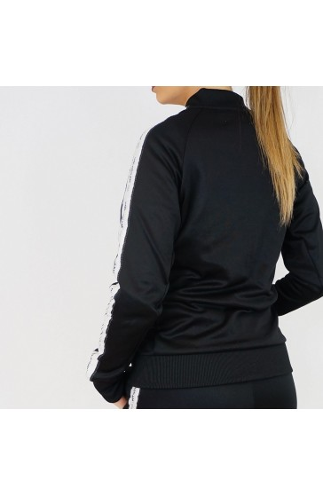 Hologram Structure black Jacket