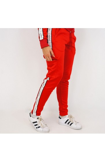 Hologram Structure red Pant