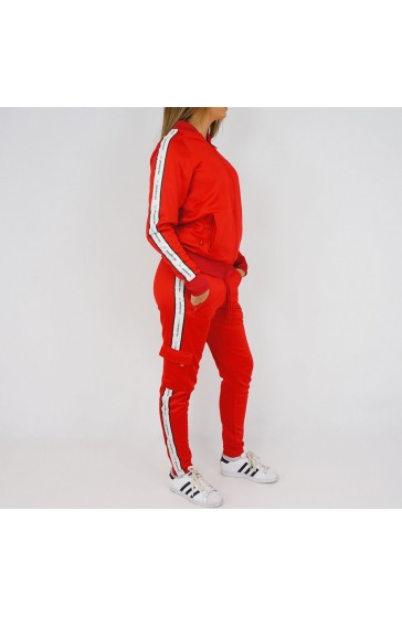 Hologram Structure red Tracksuit