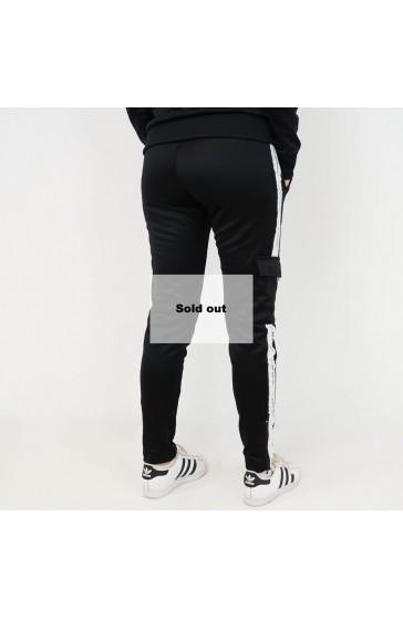 Hologram Structure black pant